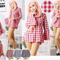 baju muslim atasan kotak/blouse