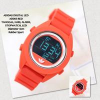 Jam tangan digital adidas LED unisex cewek/cowok grosir nixon sporty