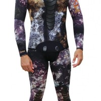 wetsuit omer mix 3d 3mm 2pcs spearfising freediving diving selam