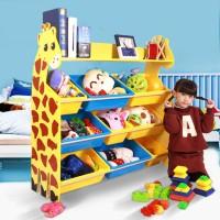lemari mainan rak barang anak susun jerapah lemari furniture dekorasi
