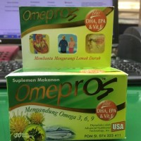 harga Omepros - Omega 3-6-9 Isi 30 Softgel Tokopedia.com