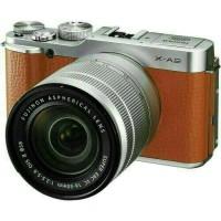 Kamera Fujifilm X-A2 Brown Coklat Kit 16-50mm OIS II XA2 / XA-2 / XA 2