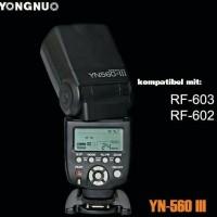 New Flash Kamera Yongnuo YN560 III Manual For Canon / Nikon YN-560 III