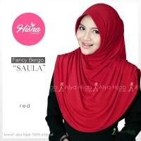 Jilbab Bergo Khusus Pipi Tembem / Tirus (Alya Hijab) Red