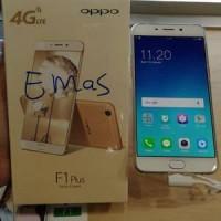 Oppo F1 Plus Selfie Expert Gold Brand New In Box Asli Ori