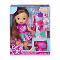 harga Baby Alive Play n Style Christina Doll (Brunette) - B1449 Tokopedia.com