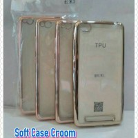 Sale... Soft Case Croom Xiomi Xiaomi Redmi 3 Cover Belakang HP