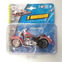 Maisto Fresh Metal 2 Wheelers - Yamaha Road Star Silverado (Red)
