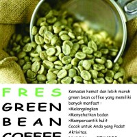 Jual kopi diet green bean coffee diet asli bromo Murah