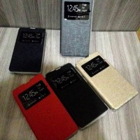Flipcover Book Dompet Leather View Slim Flip Case Casing Infinix Hot 2