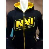 Jaket Hoodie Navi NV-211K Natus Vincere Dota2 Zipper