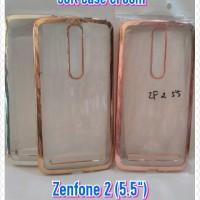 Model Baru... Soft Case Croom Asus Zenfone 2 (5.5