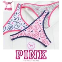 PINK Victoria Secret G string CD Thong original