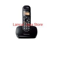 harga Telephone Whirless Cordless Phone Panasonic Kx-tg3611 Black Tokopedia.com