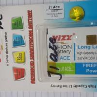 battery batt batre baterai double power vizz samsung j1 ace