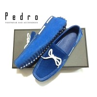 Branded PEDRO SHOES Moccasins Leather Shoes FPP152 Original Imported