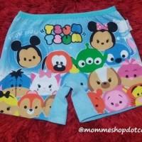 Celana Boxer Anak Cewek Tsum Tsum Merk Jessie & Mike