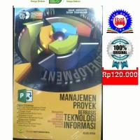 Manajemen Proyek Berbasis Teknologi Informasi Revisi Kedua +CD