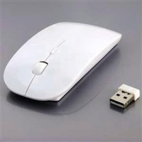Mouse Wireless mtech 6070 model apel PC Laptop Notebook Komputer Apple
