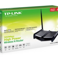 harga TP - Link 300Mbps Wireless N Router 9 dbi, 2 Antenna - TL-WR841HP (HG) Tokopedia.com