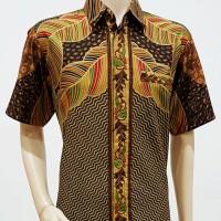 Jual Kemeja Hem Atasan Baju Seragam Pria Batik 1837 Murah