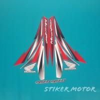 striping motor megapro cw 2013 putih