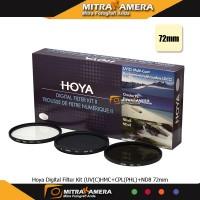 Hoya Digital Filter Kit (UV (C) HMC + CPL (PHL) + ND8 72mm