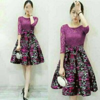 Jual Dress Lace Leony Murah