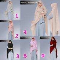 Jual Jilbab Khimar Cardi Klopak By Fadeya Hijab