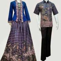 Couple batik sarimbit kebaya pesta baju pasangan seragam SRK
