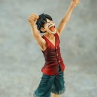 Action Figure PVC Luffy Dramatic Showcase 2nd Season Vol 1 One Piece