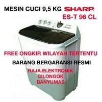 Mesin Cuci 9,5kg SHARP ES-T 96CL SUPER AQUAMAGIC, Mesin Pencuci Baju