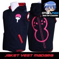 Jaket Anime Vest Madara Uchiha - Naruto