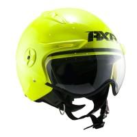 Helm Retro AXR PULSE J1 Neon Yellow Original