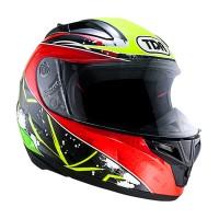 Promo Helm TDR TITAN-S Black/Yellow/Red Original