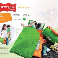harga kasur lipat bayi matras selimut / sleeping bag polka dialogue baby Tokopedia.com