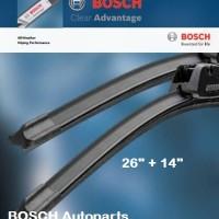 Wiper Mazda Biante - BOSCH Clear Advantage 26/14
