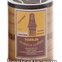 KOPI TORAJA ARABIKA BAMBU 100 GRAM (KOPI BUBUK HALUS)