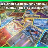 Jual Random Pack 10 Kartu Pokemon Original + rare/RH TERMURAH Murah
