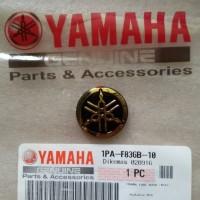 Emblm/Logo Yamaha Gold Ukuran Kecil Orginal Yamha Genuine Part