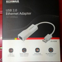 USB to LAN Edimax EU-4208 Fast Ethernet Adapter EU4208