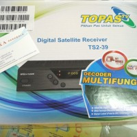Receiver Parabola Topas TV HD Free All Channel 2 Tahun