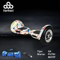 "Fantaci Double Smart Wheel A8 10"" / Air Wheel / Run Wheel mirip Segway"