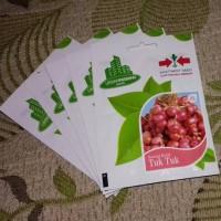 Benih Bawang Merah Tuk-tuk cap Panah Merah isi 600 benih/kemasan asli