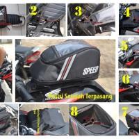 Jual TANKBAG SPEED PLANETCOSTUM UNTUK MOTOR HONDA VERZA / TAS TANGKI / TANK Murah