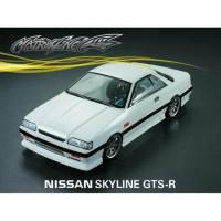 RC CAR BODY MATRIXLINE NISSAN SKYLINE GTS-R CLEAR 1/10 BUCKET LAMP