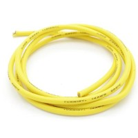 RC Car/Boat/Plane Kabel AWG TURNIGY SILICONE WIRE 14AWG YELLOW (10CM)