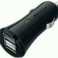Philips 1A Car Charger 2 Usb port