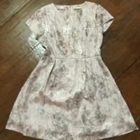 Dress Minimal bahan Satin