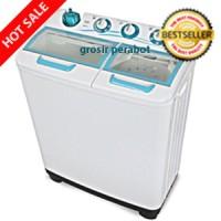 Mesin Cuci - Washing Machine Sanken TW-1122GX - 2 Tab-10 Kg -Low Watt